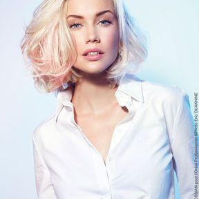 Couleur de cheveux blond très clair Christine Margossian L'Oréal Professionnel 2014