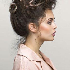 Coloration cheveux pour brune Vania Laporte L'Oréal Professionnel 2014