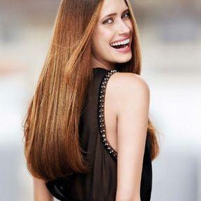 Coloration des cheveux pour brunes