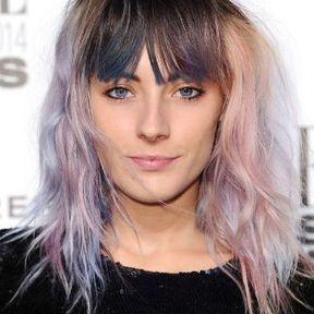 Le rainbow hair