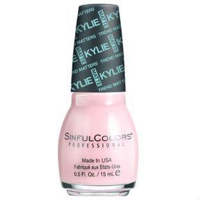 Les vernis Sinful Colors x Kylie Jenner