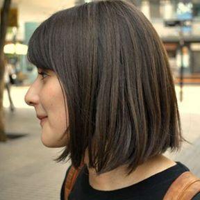 Idée coiffure carré mi-long