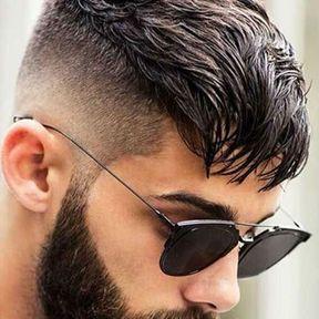 Coupes de cheveux trГЁs courtes pour hommes avec un motif