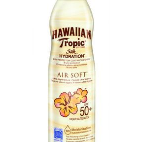 Brume Silk Hydration AirSoft d'Hawaiian Tropic SPF 50