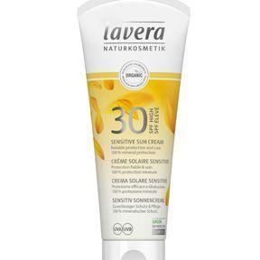 Crème Solaire Sensitive de lavera SPF 30