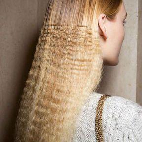 Le side-hair gaufré