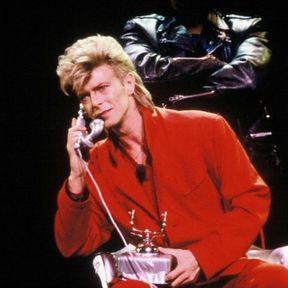 David Bowie en 1987