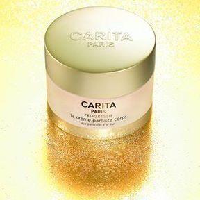 La Crème Parfaite Corps Carita aux particules d'or pur
