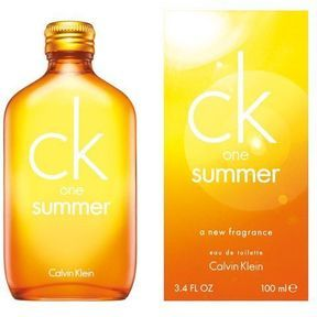 Calvin Klein : cocktail rafraîchissant