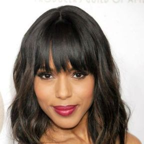La frange droite de Kerry Washington