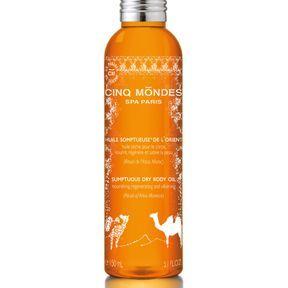 Cinq Mondes : huile somptueuse de l'Orient.