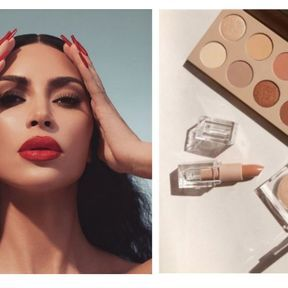 Kim Kardashian avec KKW Beauty