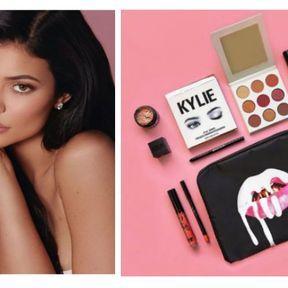 Kylie Jenner avec Kylie Cosmetics
