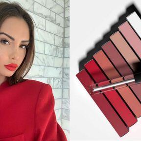 Nabilla Benattia avec Nab Cosmetic