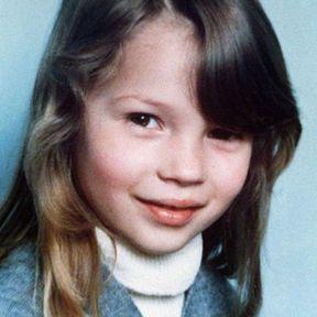 Kate Moss, la petite fille