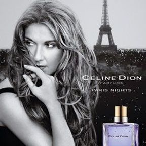 Céline Dion : the power of ... perfume