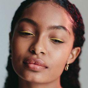L'eyeliner de couleur