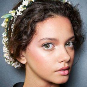Le headband en fleurs