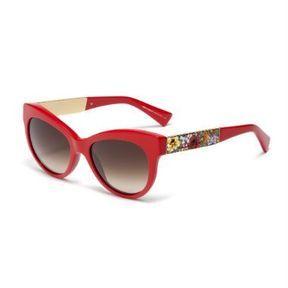 Lunettes de soleil rouges, Dolce&Gabbana