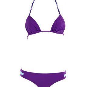 Maillot de bain violet Canobio