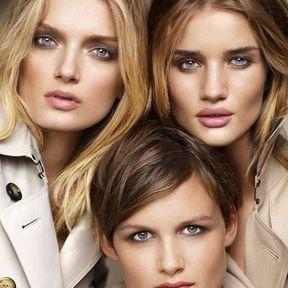 Burberry Beauty : Fashion show