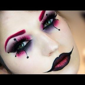 Maquillage Harley Quinn