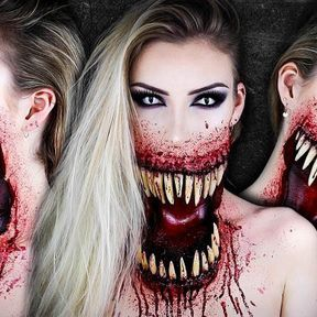 Maquillage Giant Mouth Monster