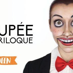 Maquillage poupée ventriloque