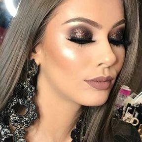 Inspiration maquillage pour Noël