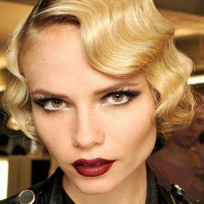 Maquillage Noël inspiration années 20