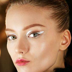 Maquillage Noël liner blanc