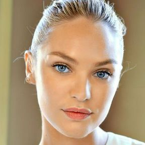 Maquillage nude Candice Swanpoel