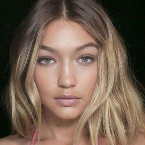 Maquillage nude Gigi Hadid