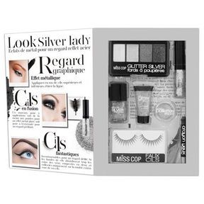 Le coffret kit de maquillage pailleté de Miss Cop