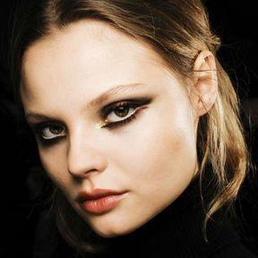 Idée de maquillage pour les yeux marron