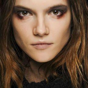 Idée de maquillage yeux marron