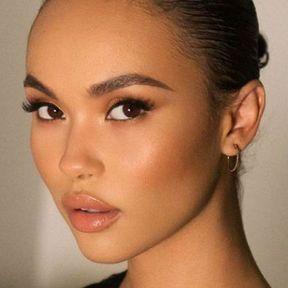 Idée de maquillage yeux marrons