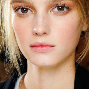 Idée simple maquillage yeux marron