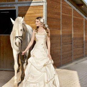 Robe de mariage 2012 © Emilie des Pres