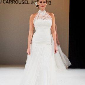 Robe de mariage 2013 en dentelle © Le Salon du mariage