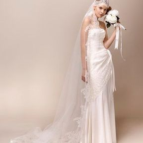 Robe de mariage 2013 en dentelle © Max Chaoul