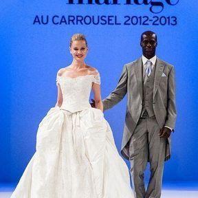 Robe de mariage 2013 soie © Le Salon du mariage