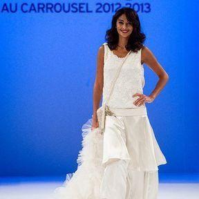 Robe de mariage 2013 tulle © Le Salon du mariage