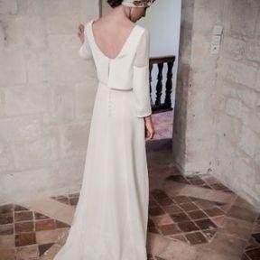 Robe de mariage 2015 @ Constance Fournier
