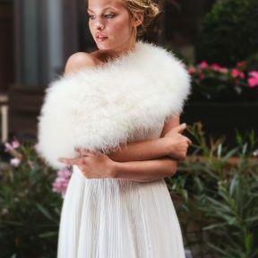 Robe de mariage blanche 2015 @ Fanny Liautard