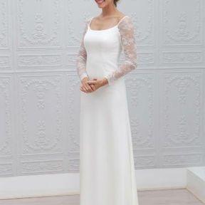 Robe de mariage blanche 2015 @ Marie Laporte