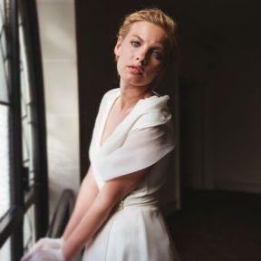 Robe de mariage blanche Automne - Hiver 2015 @ Fanny Liautard