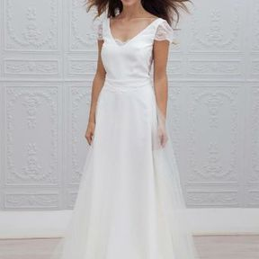 Robe de mariage blanche Automne - Hiver 2015 @ Marie Laporte