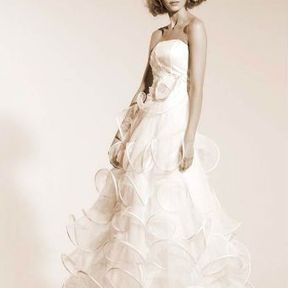 Robe de mariage blanche Automne - Hiver 2015 @ Suzanne Ermann