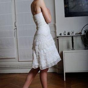 Robe de mariage Odile Léonard printemps été 2014